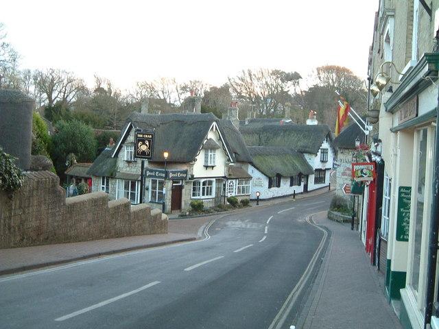 Shanklin Old Village in December