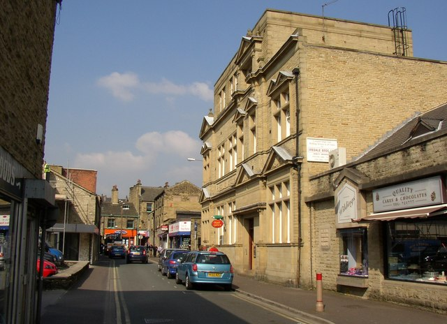 The former post office, Park Street, Brighouse