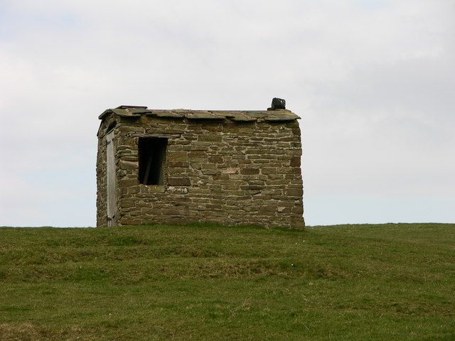 Hut near Ridshaw farm
