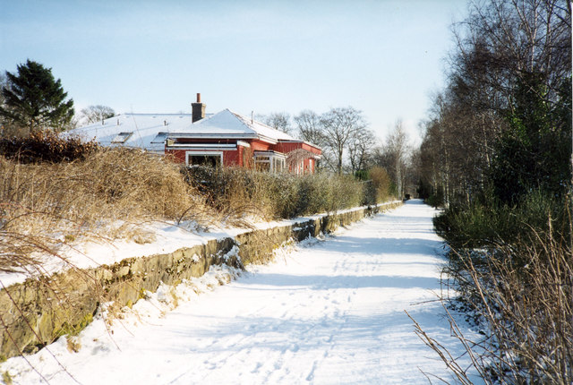 Old Station, Murtle on disused Deeside Railway line