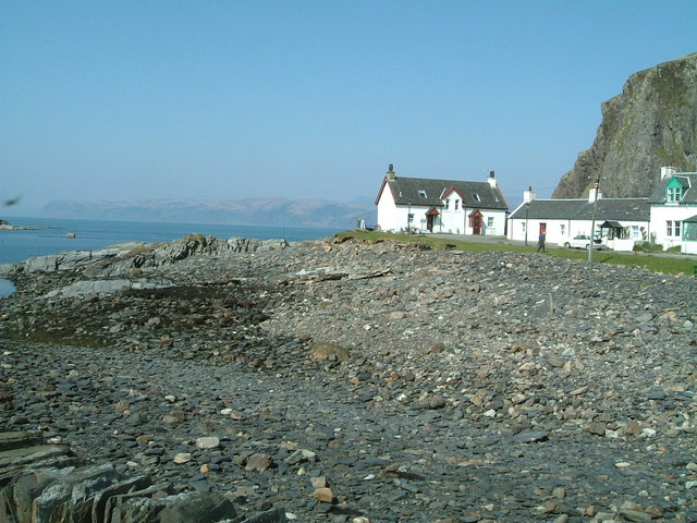 Rocky Foreshore and Cottages