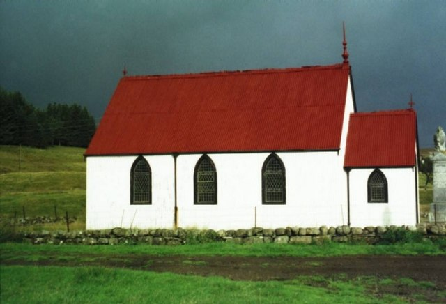Syre Church in Strathnaver