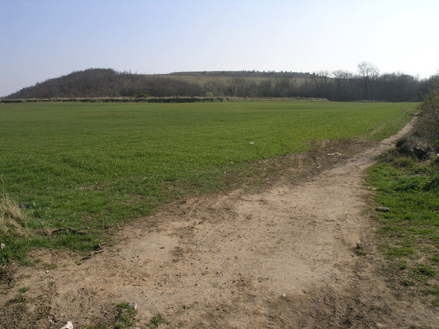 Footpath and Spoil Heap