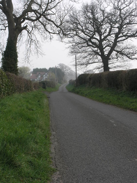 Lane to Harnage