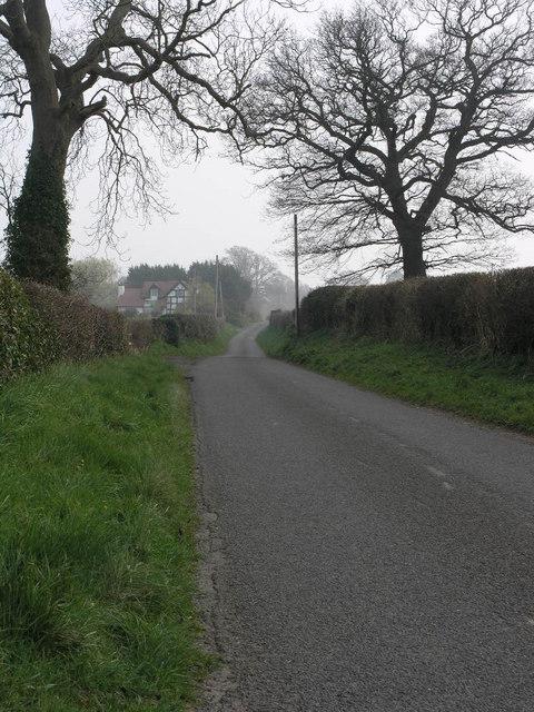 Lane to Harnage