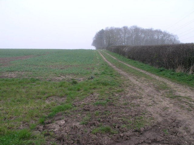 Bridleway to Barrel Hill