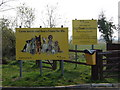 TM0092 : Signs at Dogs Trust, Snetterton by Ian Robertson