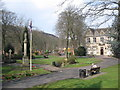 SD9905 : St Chad's Park Uppermill by Paul Anderson