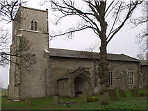 TF9320 : Stanfield Church by Richard Mudhar