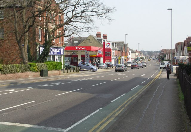 Bournemouth Road in east Parkstone