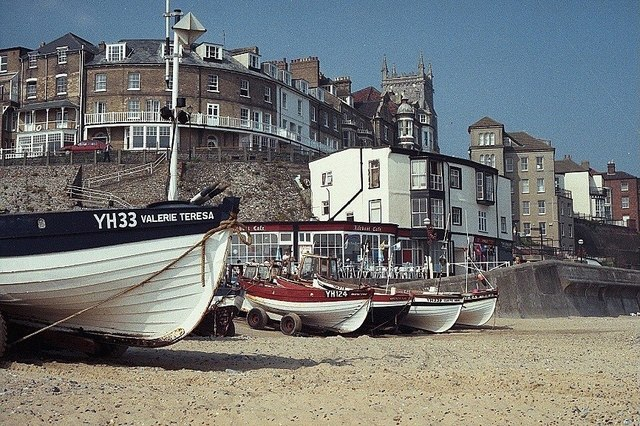 Fishing Boats on Cromer Beach