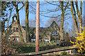 SE0324 : Roofline of former school, Morley Hall Lane by Mark Anderson