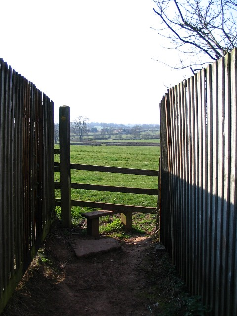 Stile at Browns Lane