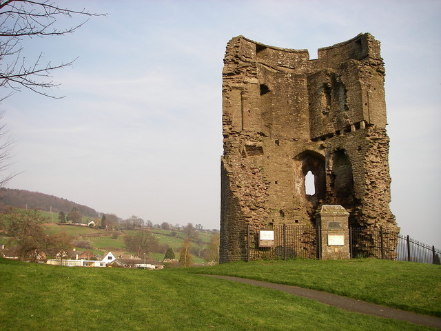 Remains of Crickhowell Castle