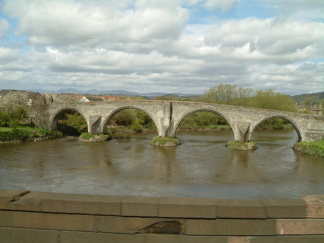 Old Bridge over The Forth