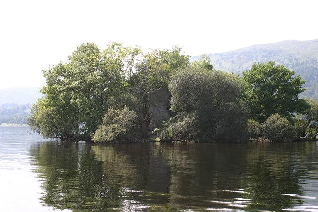 Island Loch Lomond Loch Lomond Island Castle