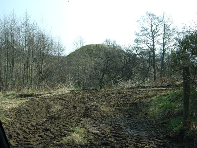 Eastern abutment of the former Sundayswells viaduct