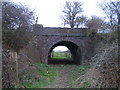 SP7220 : Railway bridge near Shipton Lee by Andy Gryce