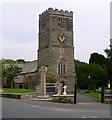 SX0854 : Tywardreath Church by gary radford