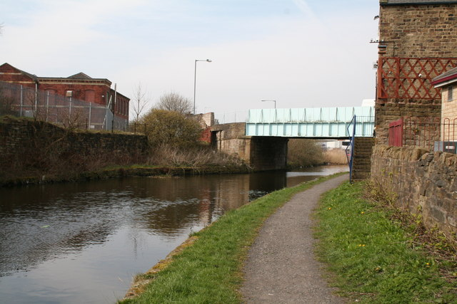 Gannow (Lane) Bridge, Leeds and Liverpool Canal, Rose Grove