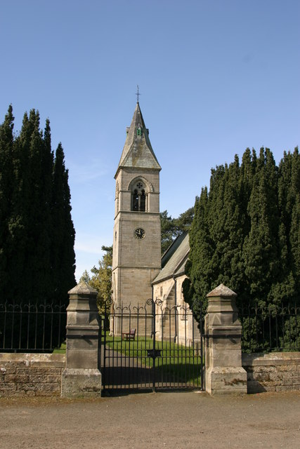 Holy Saviour Church, Milbourne