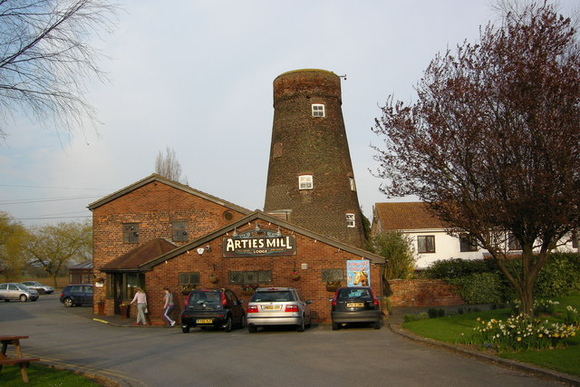 Arties Mill, Castlethorpe.