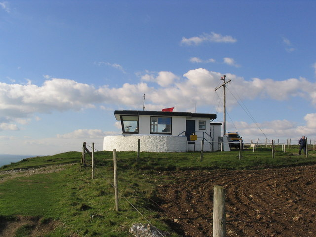 NCI lookout, St. Alban's Head