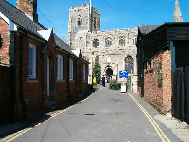 Clare Church from Church Street