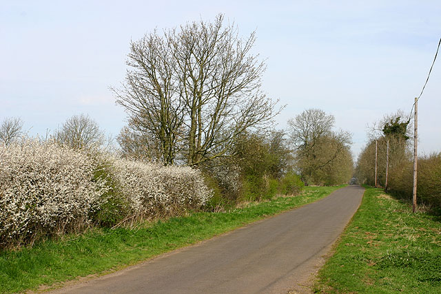 Road between Enstone and Little Tew