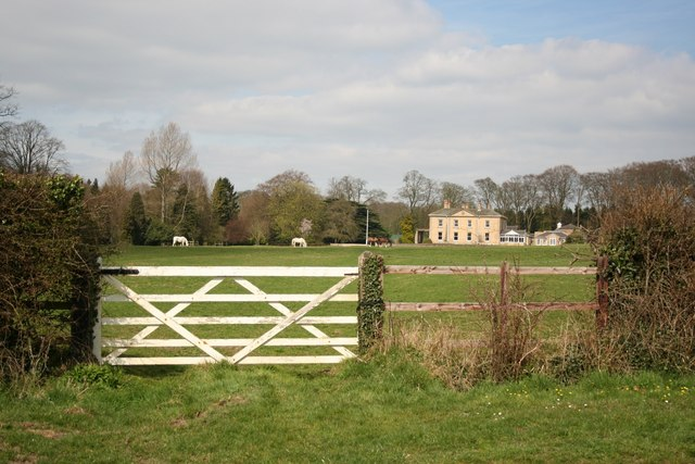 Ranby Hall view
