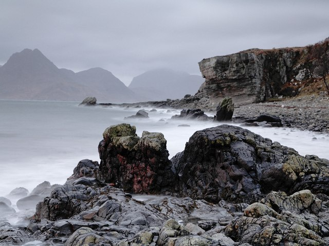 Elgol beach
