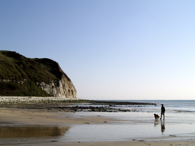 Flamborough South Landing Beach