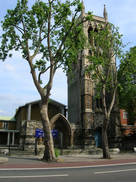 St Mary's Church Newington, Kennington Park Road, London SE11
