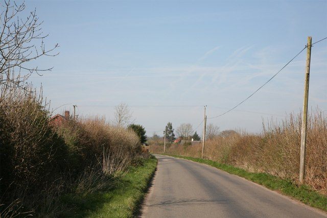 Lane near to Soudley Park