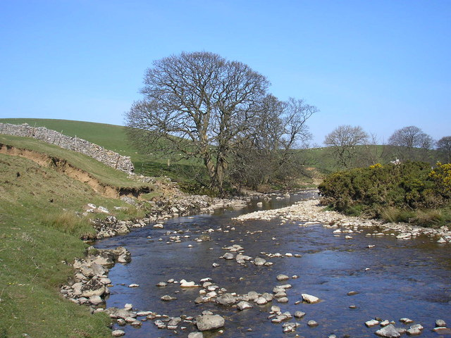 The River Eden at Lammerside