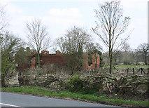 SO9680 : Ruined Building in Hunnington by Geoff Gartside