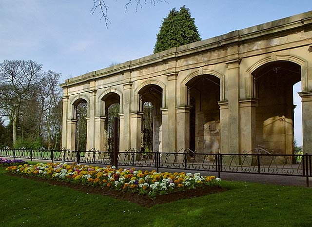 Loggia of Marton Hall, Stewart Park