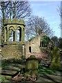 SE1032 : Old Church of St. James, Thornton by Paul Glazzard