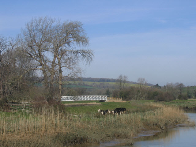 The White Bridge, South Stoke
