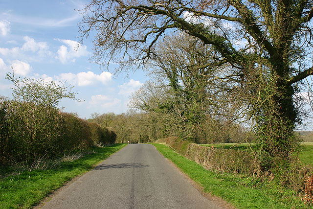Road near Cottisford