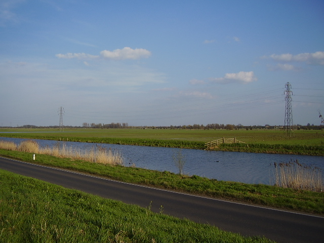 River Nene from the flood bank