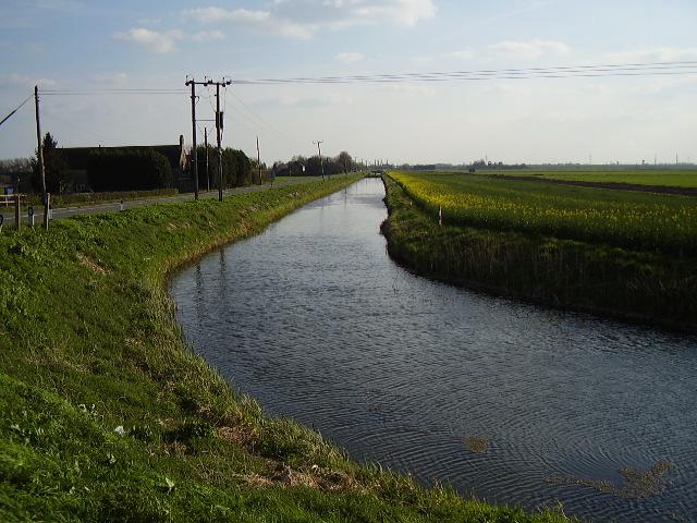 Thorney River at Stone Bridge Corner