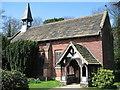 SJ8383 : Norcliffe Chapel, Styal Village by Sue Adair