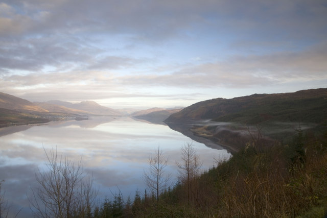 Loch Carron and Lochcarron