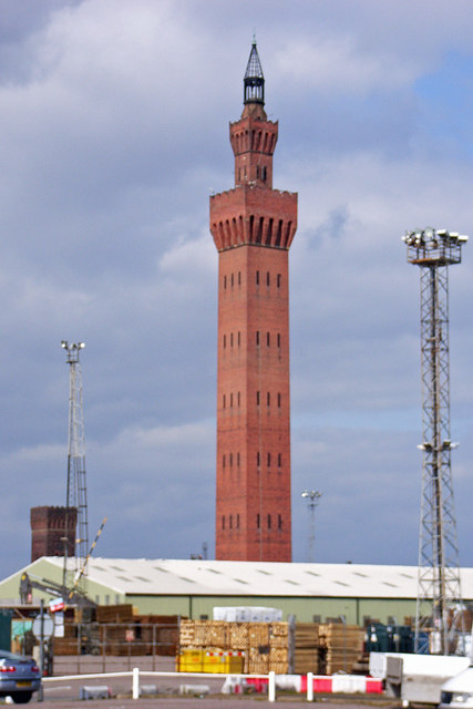 Grimsby Dock Tower 169 David Wright Geograph Britain And
