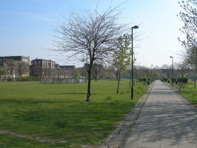 Weavers Fields, Bethnal Green