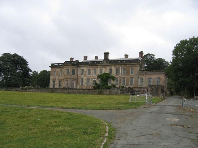 Brogyntyn Hall, near Oswestry