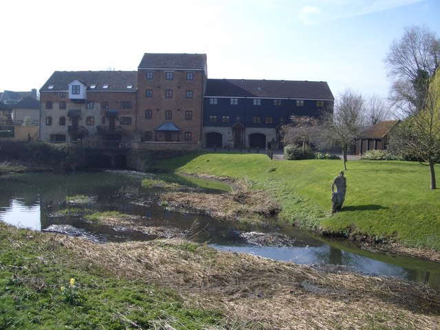 Turvey Mill on the River Great Ouse