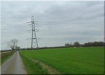 SP7978 : Power lines by Les Harvey