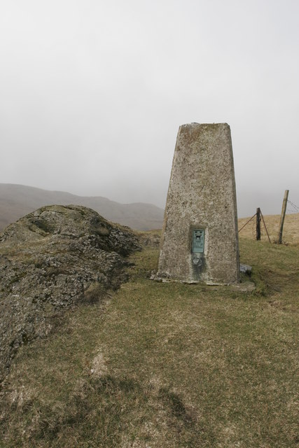 Trig Point on the Bishop's Seat, above Dunoon